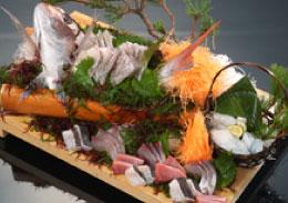 鮮魚の磯盛り ※要予約