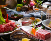 ■Popular No1 ■<< selectable banquet dishes >> which way does one article of - addition choose? Abalone or Iki cow steak ...