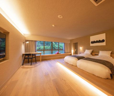 選べるお部屋様々なタイプのお部屋